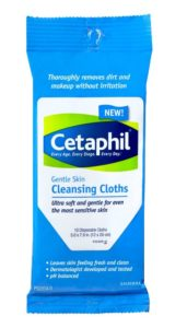 Cetaphil Cleansing Cloths | KPKids.net