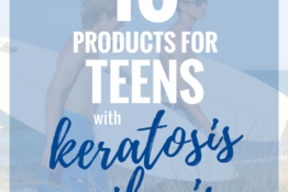 Products for Teens with Keratosis Pilaris | KPKids.net